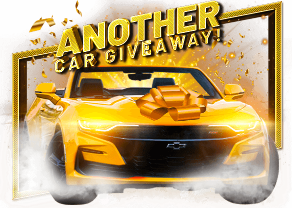 ANOTHER CAR GIVEAWAY!